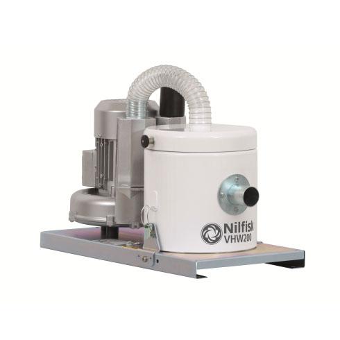 4041100380 VHW200 NELFISK Стационарный пылесос для автоматизированных производственных линий чистых помещений ИСО 7-8. Пылесборник для сухого мусора 1л,комплектуется фильтром HEPA14,L CLASS POLYESTER