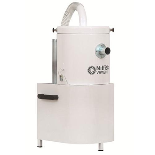 4041100392 VHW201 NELFISK Стационарный пылесос для автоматизированных производственных линий чистых помещений ИСО 7-8. Пылесборник для сухого мусора 6.5л,комплектуется фильтром HEPA14,L CLASS POLYESTER. В частном случае может использоваться для уборки в помещении