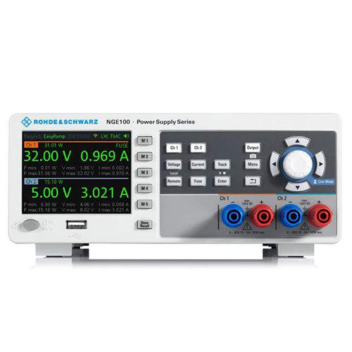 NGE102B ROHDE&SCHWARZ Источник питания постоянного тока,2-х канальный.