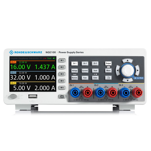 NGE103B ROHDE&SCHWARZ Источник питания постоянного тока,3-х канальный.